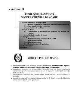 Curs - Tipologia Băncilor