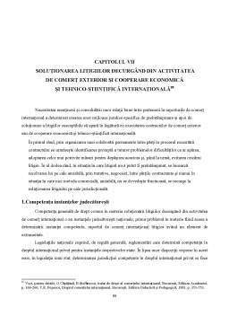 Curs - Drept Comercial Internațional