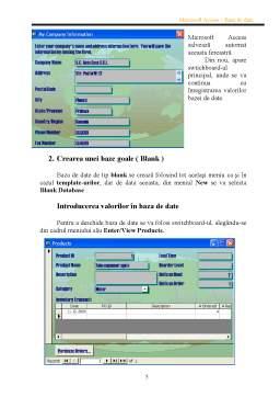 Proiect - Proiect Acces Baza de Date - Piese Auto
