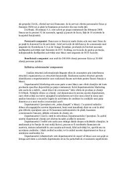Proiect - Analiza Informationala a Activitatii unei Societati