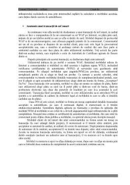 Referat - Comerțul Electronic Mobil mComert