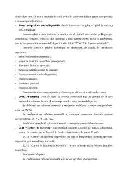 Referat - Contabilitatea Creditelor Bancare