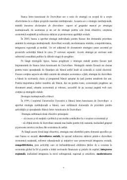 Referat - Banca Inter-Americană de Dezvoltare