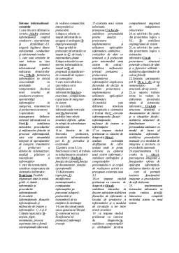 Notiță - Sisteme Informatice Contabile