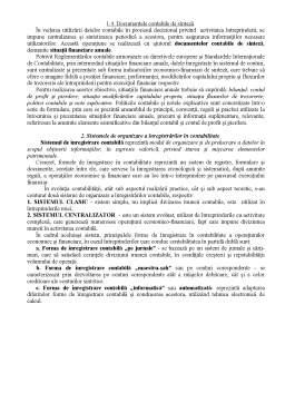 Curs - Documentele Contabile și Sistemele de Contabilitate