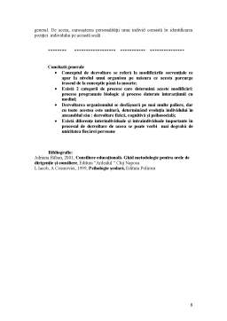 Curs - Consiliere Psihologica