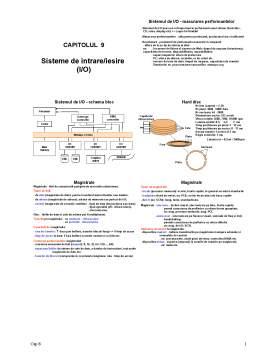 Curs - Sisteme de Intrare-Iesire