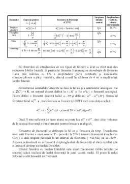 Curs - Proiectarea Numerica a Semnalelor
