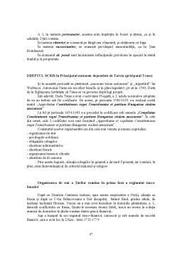 Curs - Organizarea Sociala si Normele de Conduita ale Geto - Dacilor in Epoca Prestatala