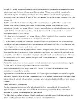 Curs - Drepturile si Obligatiile Fundamentale ale Statului