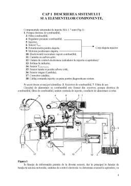 Proiect - Instalatia de Alimentare a MAS cu Injectie de Benzina
