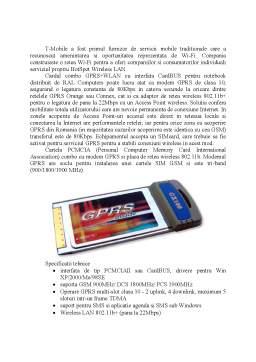 Referat - Retele Wireless