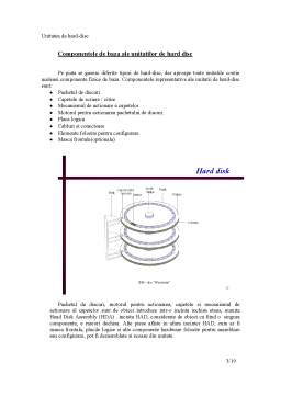 Proiect - Unitatea de Hard-Disc