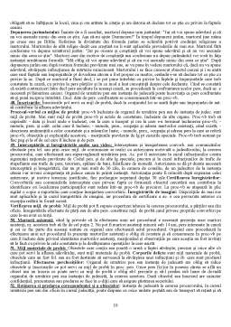 Notiță - Elemente de Procedura Penala