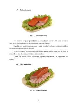 Proiect - Tehnologia de Obtinere a Produselor din Carne - Grupa Specialitati