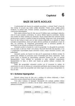 Curs - Baze de Date Aciclice