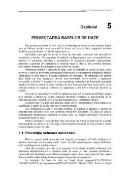 Curs - Proiectarea Bazelor de Date
