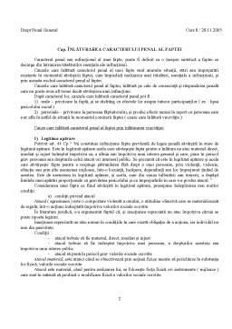 Curs - Drept Penal Curs