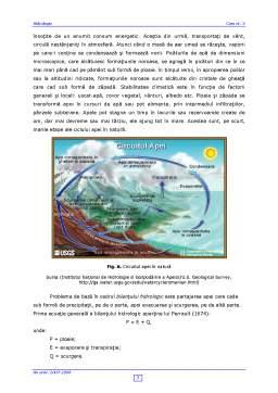 Curs - Hidrologie Curs