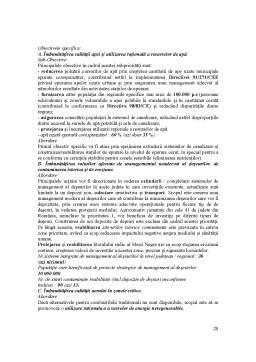 Referat - Strategii si Politici de Mediu in Contextul Integrarii in UE - Studiu de Caz - Romania