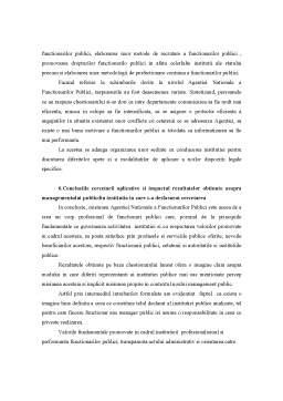 Proiect - Cercetare Aplicativa la Management Public - Misiunea Institutiilor Publice in Contextul Noului Management Public
