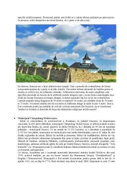 Proiect - Resursele Naturale și Antropice ale Județului Suceava