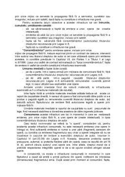 Curs - Infractiuni Cuprinse in Legea 8-1996 Privind Drepturile de Autor si Drepturile Conexe