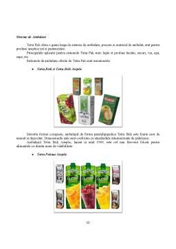Proiect - Ambalarea Sucurilor Naturale