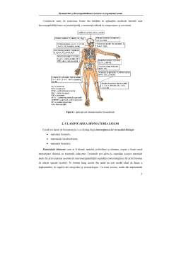 Curs - Biomateriale și Biocompatibilitatea acestora cu Organismul Uman