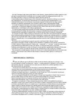 Curs - Teorii Constructiviste - Sociologia Japoneza,Chinzeza si Rusa