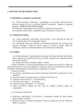 Proiect - Elaborarea Specificatie de Proiectare Detaliata pentru Produsul Unitate de Lucru