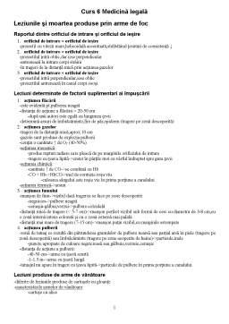 Curs - Medicină Legală