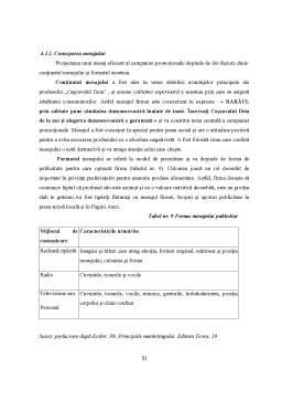 Licență - Fundamentarea Economică a Activității de Promovare a Produselor Agroalimentare