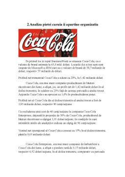 Referat - Gestiunea unei Crize de Imagine Coca-cola