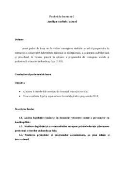 Proiect - Managementul Proiectelor