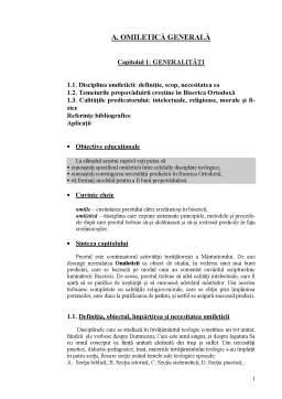 Curs - Omiletică