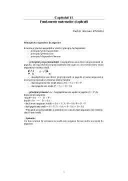 Curs - Fundamente Matematice și Aplicații