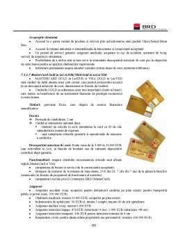 Proiect - Practica Bancara - BRD