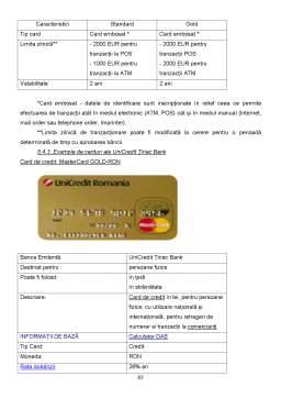 Proiect - Monografie UniCedit Tiriac Bank