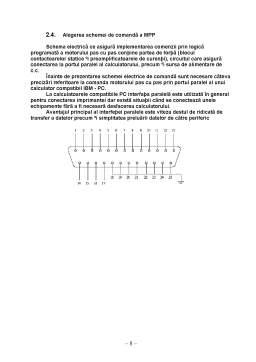 Referat - Proiectarea unui Circuit de Comanda pentru un Motor Pas cu Pas