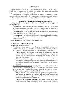 Referat - Clasificarea Vinurilor Fabricate in Republica Moldova si Romania