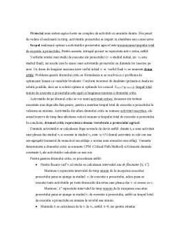 Referat - Modelul Esalonarii Optime