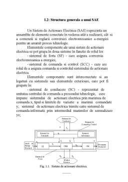 Proiect - Acționări Electrice Navale