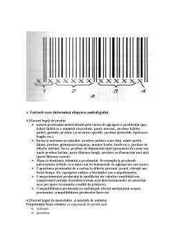 Curs - Ambalaje și Design în Industria Alimentară