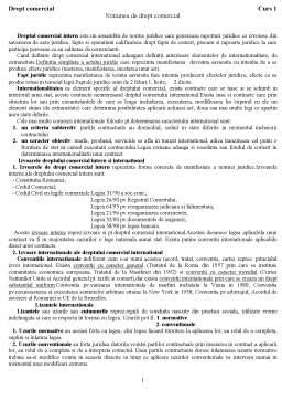 Proiect - Drept Comercial