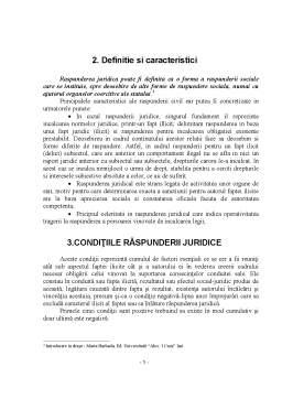 Referat - Raspunderea Juridica