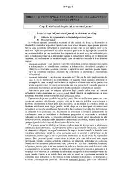 Curs - Drept Procesual Penal