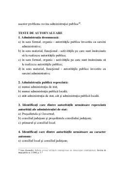 Curs - Definiția și Trăsăturile Administrației Publice prin Prisma Constituției din 1991 Revizuite și Republicate