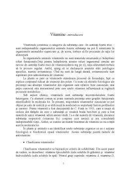 Referat - Vitaminele A, D și K