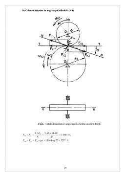 Proiect - Reductor de Turatie Cilindro Melcat